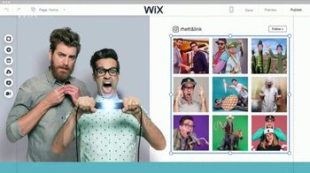 Wix Super Bowl 2018 TV Spot, 'Coolest Collaboration' Feat. Rhett and Link - Thumbnail 8