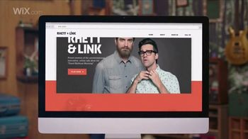 Wix Super Bowl 2018 TV Spot, 'Coolest Collaboration' Feat. Rhett and Link - Thumbnail 9