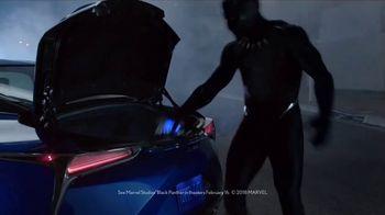 2018 Lexus LS 500 Super Bowl 2018 TV Spot, 'Marvel Studios Black Panther' [T1] - Thumbnail 1