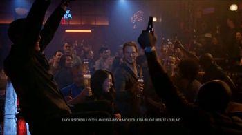 Michelob ULTRA Super Bowl 2018 TV Spot, 'I Like Beer' Featuring Chris Pratt - Thumbnail 9