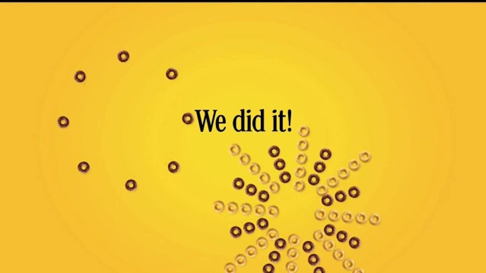 Cheerios TV Commercial, 'Ellen's One Million Acts of Good: We Did It'