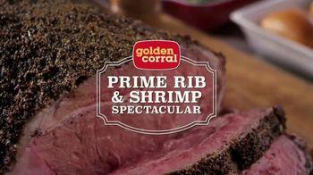 Golden Corral Prime Rib & Shrimp Spectacular TV Spot, 'Rico' [Spanish]