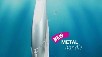 Venus Extra Smooth Platinum TV Spot, 'A New Way to Smooth' - Thumbnail 9