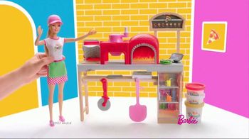 Barbie Pizza Chef TV Spot, 'Barbie Dough' - 2181 commercial airings