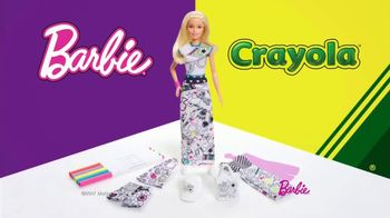 Barbie Crayola Color-In Fashion Doll TV Spot, 'Together' - Thumbnail 1