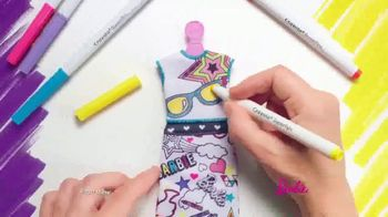 Barbie Crayola Color-In Fashion Doll TV Spot, 'Together' - Thumbnail 2