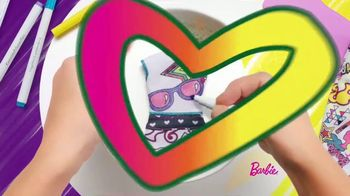 Barbie Crayola Color-In Fashion Doll TV Spot, 'Together' - Thumbnail 5