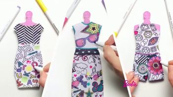 Barbie Crayola Color-In Fashion Doll TV Spot, 'Together' - Thumbnail 6