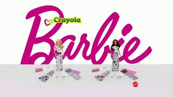 Barbie Crayola Color-In Fashion Doll TV Spot, 'Together' - Thumbnail 8