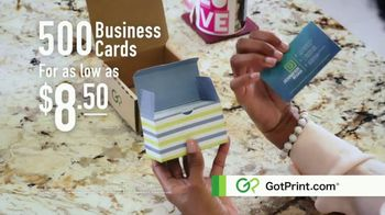 GotPrint.com Business Cards TV Spot, 'High Quality, Low Prices' - Thumbnail 10