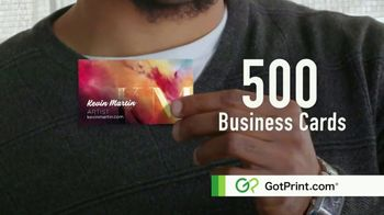 GotPrint.com Business Cards TV Spot, 'High Quality, Low Prices' - Thumbnail 4
