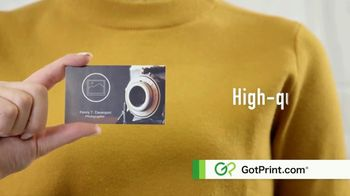 GotPrint.com Business Cards TV Spot, 'High Quality, Low Prices' - Thumbnail 5