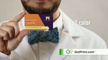 GotPrint.com Business Cards TV Spot, 'High Quality, Low Prices' - Thumbnail 6