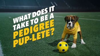 Pedigree TV Spot, 'Pup-lete: Good Acting'