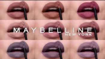 Maybelline New York SuperStay Matte Ink Un-Nude TV Spot, 'Mate' [Spanish] - Thumbnail 2