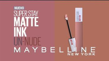 Maybelline New York SuperStay Matte Ink Un-Nude TV Spot, 'Mate' [Spanish] - Thumbnail 3