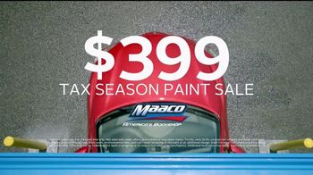 Maaco Tax Season Paint Sale TV Spot, 'Make the Most of It' - Thumbnail 7