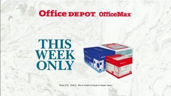 Office Depot OfficeMax Paper Subscription TV Spot, 'Copy Paper' - Thumbnail 7