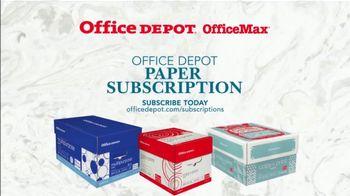 Office Depot OfficeMax Paper Subscription TV Spot, 'Copy Paper' - Thumbnail 8