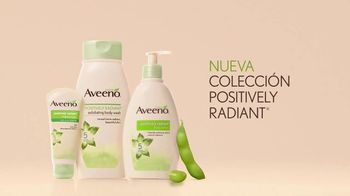 Aveeno Positively Radiant Body Lotion TV Spot, 'Soya' [Spanish] - Thumbnail 9
