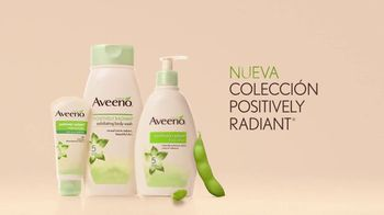 Aveeno Positively Radiant Body Lotion TV Spot, 'Soya' [Spanish] - Thumbnail 8