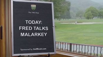 GolfBook TV Spot, 'Fred Talks Malarkey for 30 Seconds' - Thumbnail 1
