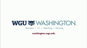 WGU Washington TV Spot, 'Wisdom' - Thumbnail 10