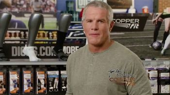 Dick's Sporting Goods TV Spot, 'Copper Fit Compression' Feat. Brett Favre - 1711 commercial airings