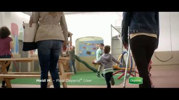 Depend FIT-FLEX TV Spot, 'Stay Active With Grandchildren' - Thumbnail 2