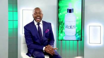 Vitalize Natural Hair Growth Treatment TV Spot, 'Replenish' Ft. AJ Johnson