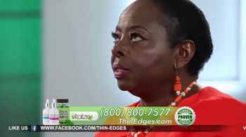 Vitalize Natural Hair Growth Treatment TV Spot, 'Replenish' Ft. AJ Johnson - Thumbnail 2