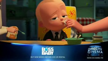 DIRECTV Cinema TV Spot, 'Boss Baby'