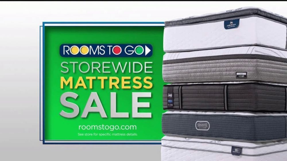 Rooms To Go Storewide Mattress Sale Tv Commercial Twin