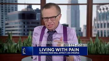Omega XL TV Spot, 'Living With Pain' Featuring Larry King - Thumbnail 1