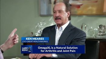 Omega XL TV Spot, 'Living With Pain' Featuring Larry King - Thumbnail 3