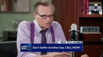 Omega XL TV Spot, 'Living With Pain' Featuring Larry King