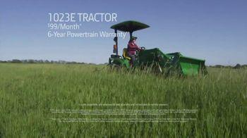 John Deere E Series Tractors TV Spot, 'Genuine Value' - Thumbnail 6