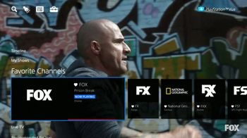 PlayStation Vue TV Spot, 'What If: Comedies, Dramas and Sports'