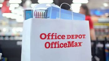 Office Depot OfficeMax TV Spot, 'Taking Care of Back to School: HP Ink' - Thumbnail 4