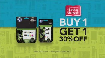 Office Depot OfficeMax TV Spot, 'Taking Care of Back to School: HP Ink' - Thumbnail 5