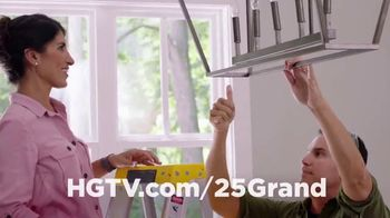 HGTV $25 Grand in Your Hand Sweepstakes TV Spot, 'How Would You Spend It?' - Thumbnail 6