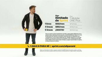 Sprint TV Spot, 'Ilimitado: Samsung Galaxy S8' con Prince Royce [Spanish] - Thumbnail 3