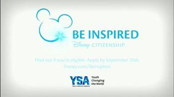 YSA TV Spot, 'Disney Channel: 2017 Summer of Service Grant Applications' - Thumbnail 9
