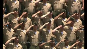Budweiser TV Spot, 'MLB Military Moments' - Thumbnail 8