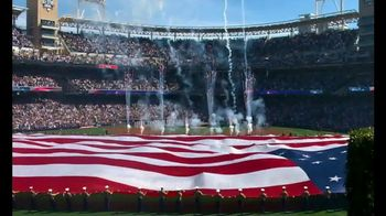 Budweiser TV Spot, 'MLB Military Moments' - 2 commercial airings