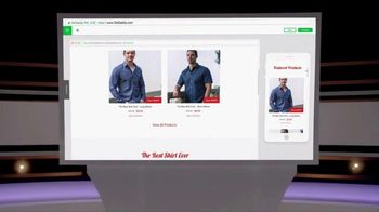 GoDaddy GoCentral Online Store TV Spot, 'ABC: Best Shirt Ever' - Thumbnail 7