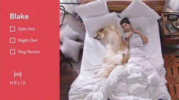 Helix Sleep TV Spot, 'Custom Mattress'
