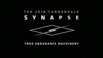 2018 Cannondale Synapse TV Spot, 'True Self' - Thumbnail 10