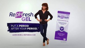 RepHresh Gel TV Spot, 'Put a Period After Your Period' - Thumbnail 4