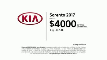 Kia Evento Summer SUV Clearance TV Spot, 'Premios: 2017 Sorento' [Spanish] - Thumbnail 9